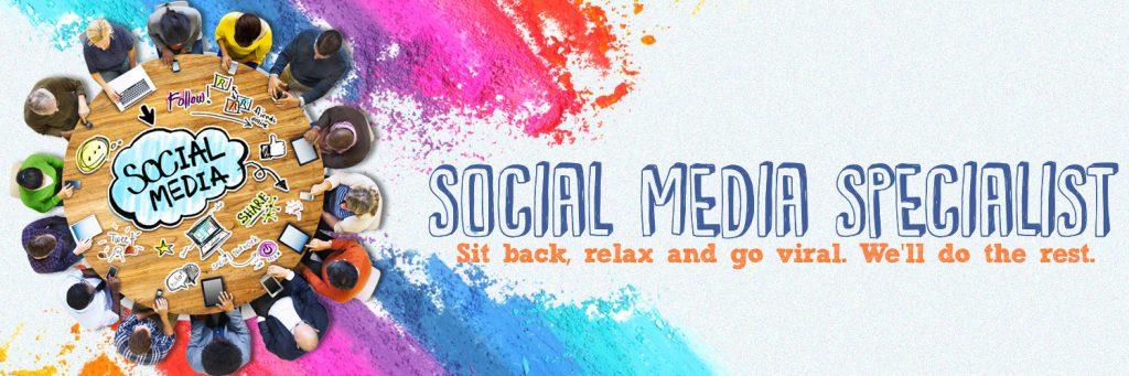 author social media specialist