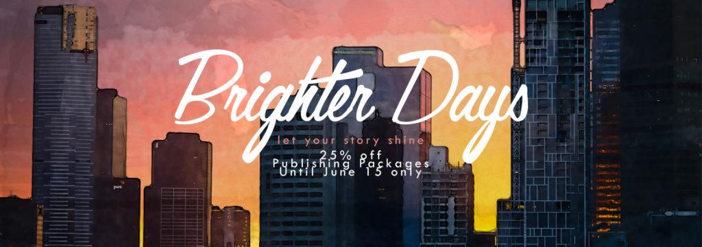 BookVenture Brighter Days - Publishing Promo