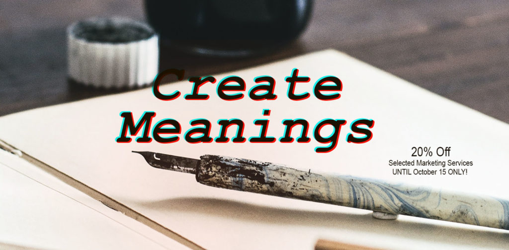 BookVenture Create Meanings Marketing Promo