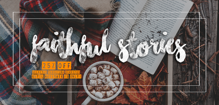 BookVenture Promo - Faithful Stories