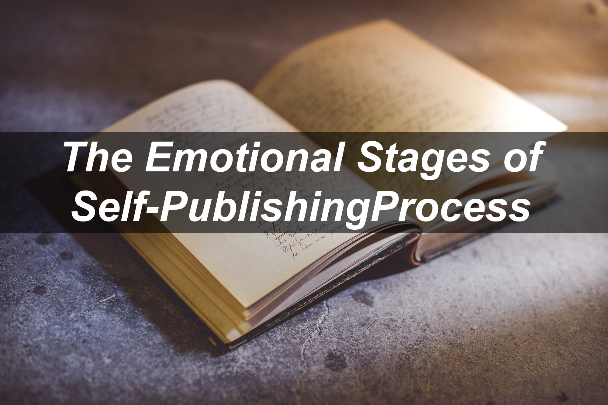 emotional stages of the self-publishing process
