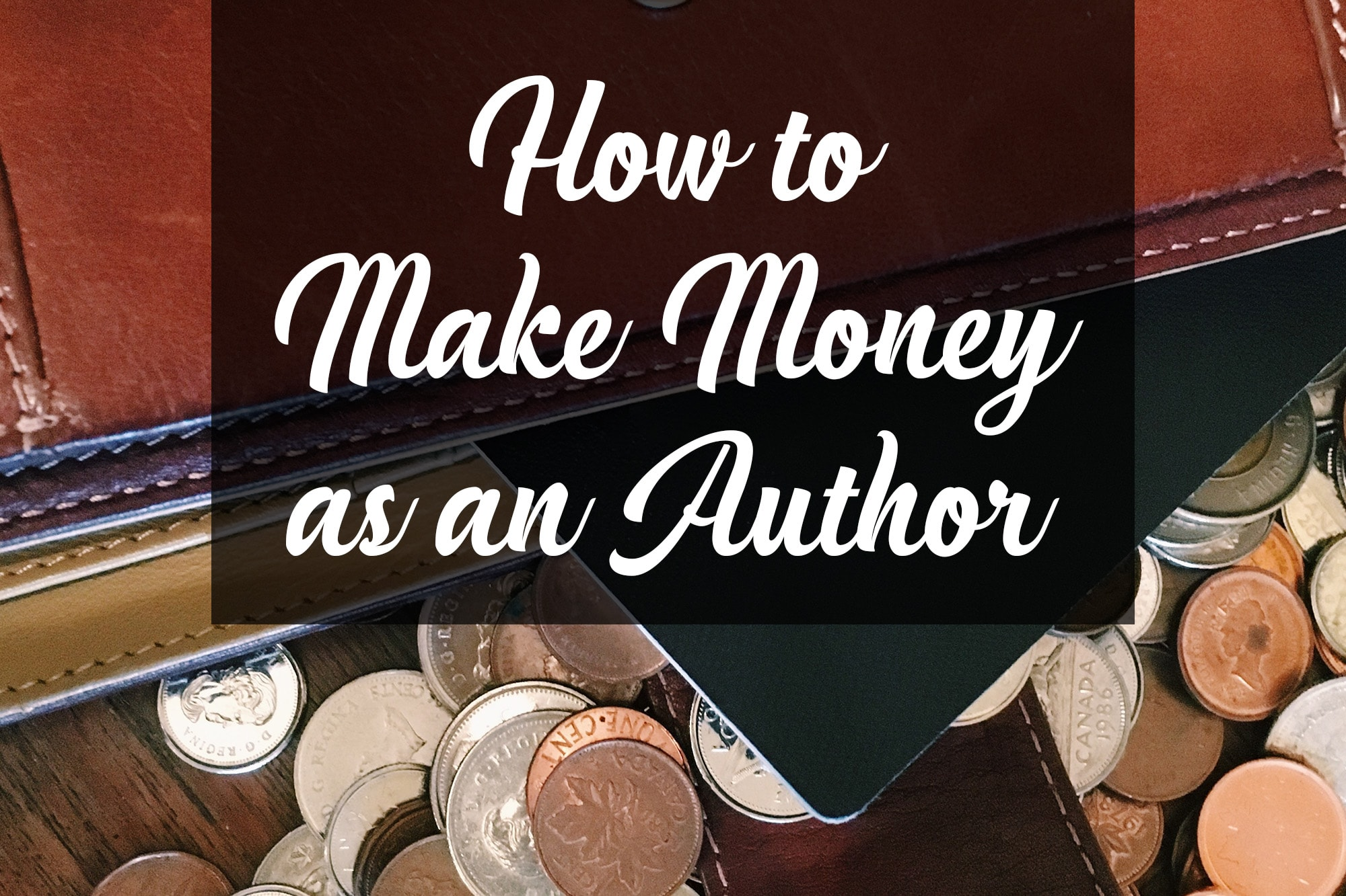 how to make money as an author