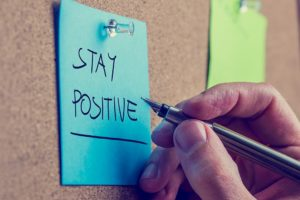 staying positive as a writer