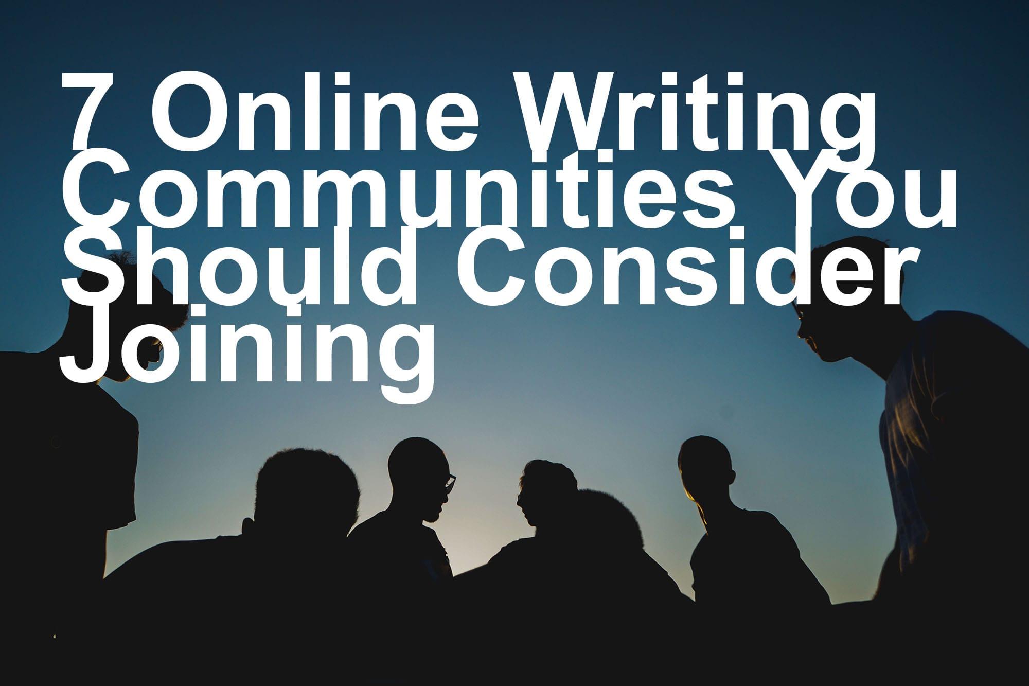 online writing communities