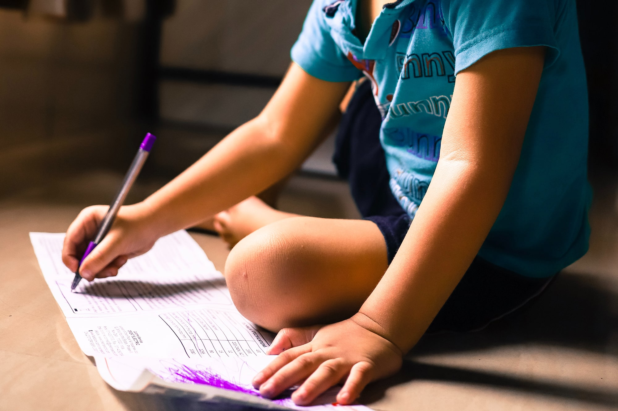 Everyday Activities to Develop Your Child's Writing Skills