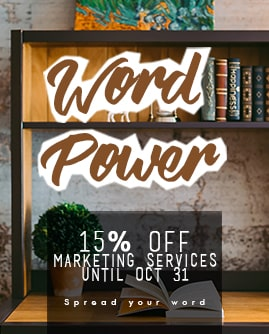 word power marketing services promo