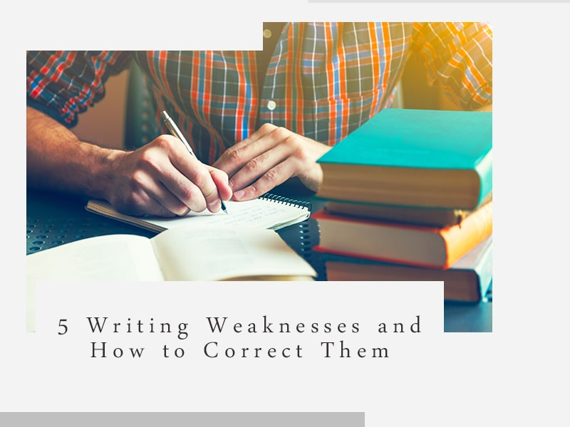 writing weaknesses and how to fix them banner