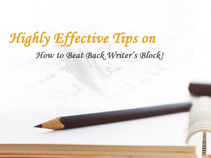 how to beat writers blocks