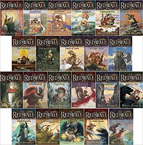 redwall book series by brian jacques
