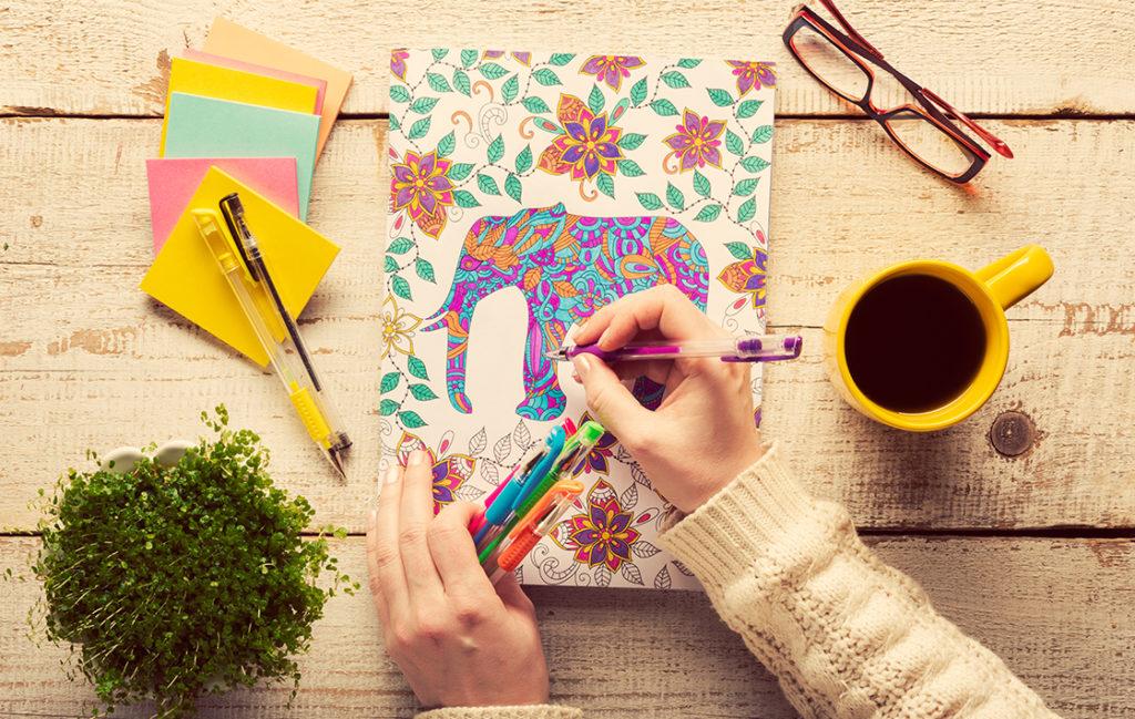 Create imaginative and colorful illustrations