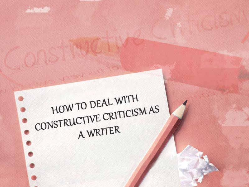 constructive criticism as a writer banner