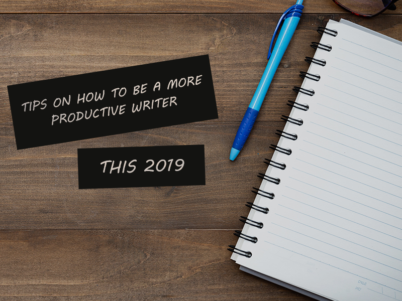 how to be a more productive writer banner