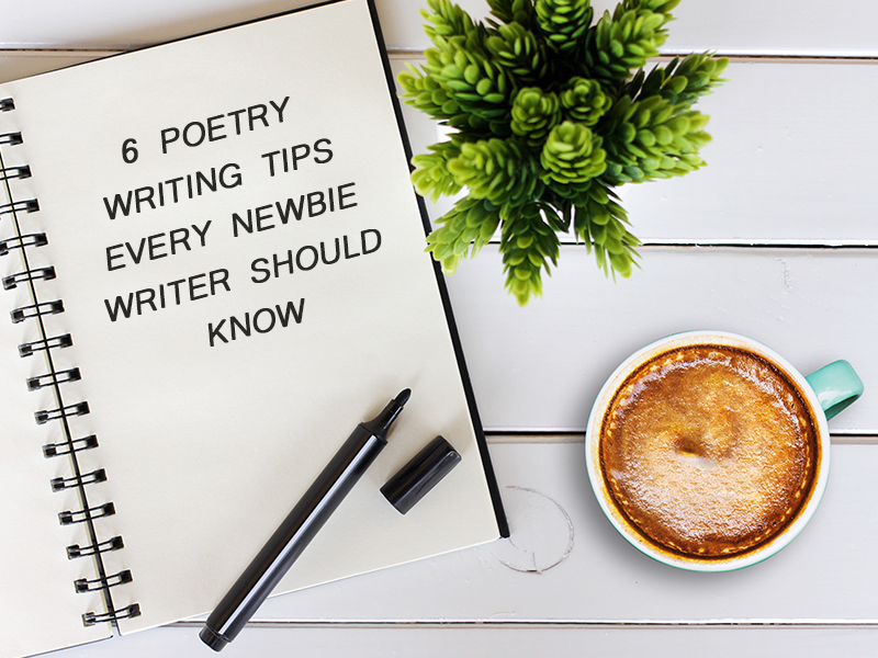 poetry writing tips banner