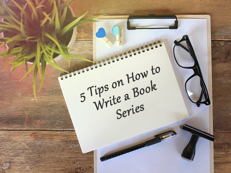 tips on how to write a book series