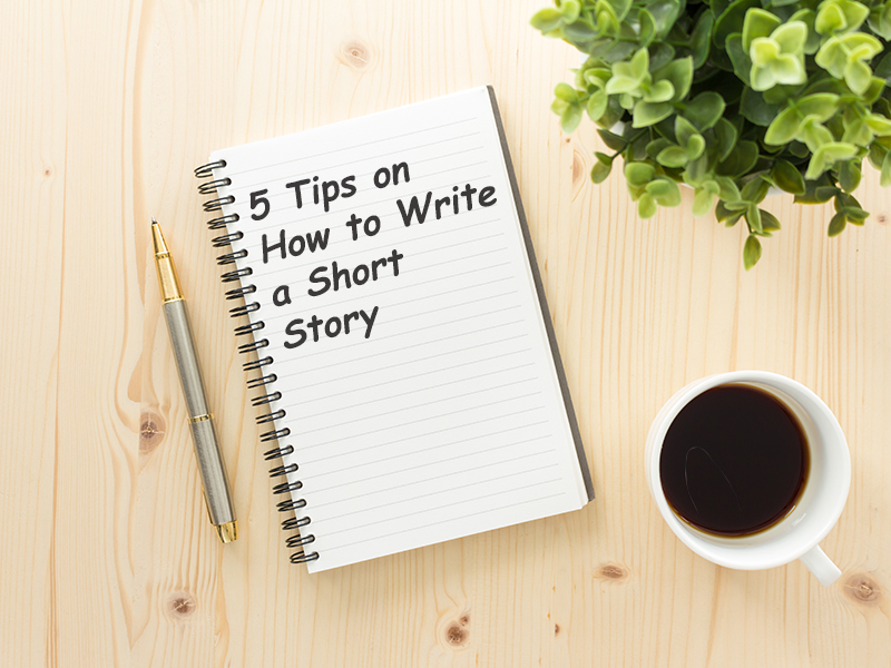 how to write a short story banner