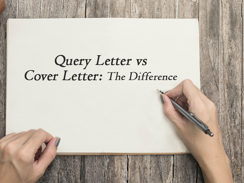difference between query letter and cover letter